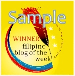 Sample Prize Badge